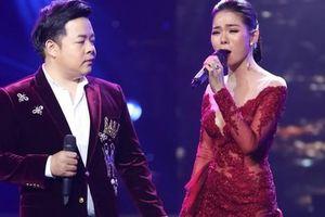 Hoài Lâm theo Lệ Quyên - Quang Lê ra Hà Nội hát chuyện tình buồn