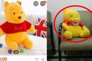 Đặt gấu bông online, khách hàng 'hết hồn' nhận quái vật kỳ dị
