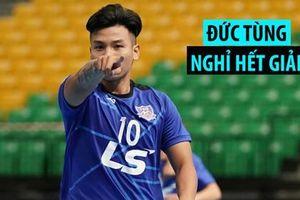 Thái Sơn Nam mất 'chân sút búa tạ' trước tứ kết Futsal châu Á 2019