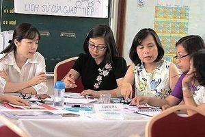 Nhiều điểm mới trong công tác tập huấn, bồi dưỡng giáo viên cho chương trình mới