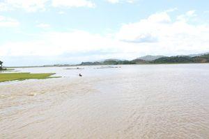 Vỡ đê khiến hơn 1.000ha lúa sắp thu hoạch chìm trong biển nước