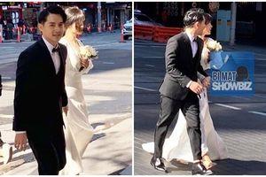 Fan bắt gặp Đông Nhi - Ông Cao Thắng chụp ảnh cưới trên đường phố Sydney