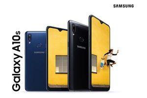 Samsung ra mắt Galaxy A10s: camera kép và pin 4.000mAh, giá 112 USD