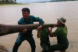 Cận cảnh người dân 'vá' đê, 'giải cứu' hàng trăm ha lúa ở Đắk Lắk