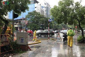 Hà Nội vẫn còn 16 điểm úng ngập khi có mưa trên các tuyến phố