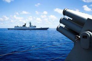 5 tàu chiến Trung Quốc đi qua hải phận Philippines không báo trước