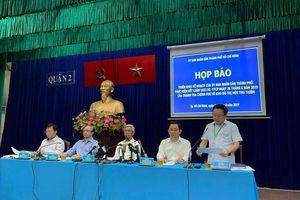 TPHCM họp báo công bố các nội dung khắc phục sai phạm ở Thủ Thiêm