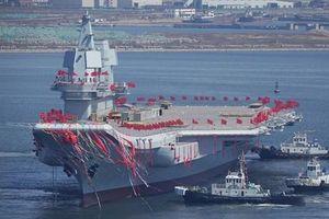 Tàu sân bay nội địa đầu tiên của Trung Quốc sở hữu sức chứa 'khủng'