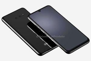G8X sẽ là smartphone đầu tiên của LG dùng cảm biến vân tay dưới màn hình?