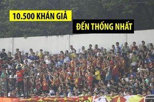 CĐV kéo đến sân theo dõi trận U.18 Việt Nam - U.18 Thái Lan