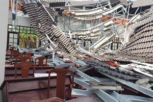 Vụ sập mái công trình 15 tỉ đồng ở Hậu Giang: Đơn vị thi công nói gì?
