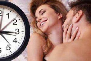 'Chuyện ấy' mấy phút là lý tưởng?