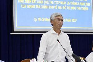 TPHCM công bố kế hoạch khắc phục vi phạm ở Thủ Thiêm