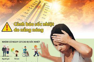 Cảnh báo sốc nhiệt do nắng nóng gay gắt