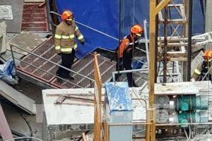 Sập thang máy tại công trường xây dựng, 6 người thương vong