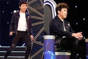 Ham mê mang giày độn hack chiều cao, Trấn Thành phải chịu cảnh té 'sấp mặt' trên sân khấu