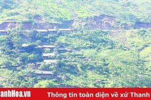 Nhiều hộ dân Mường Lát mong muốn di dời khỏi khu vực nguy hiểm