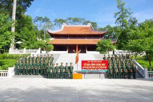 Học viện Biên Phòng tổ chức Lễ báo công dâng Bác
