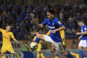 Hải Huy nhận án phạt vì hành động phi thể thao ở vòng 20 V-League 2019