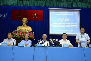 Công bố tiến độ thực hiện kết luận của Thanh tra Chính phủ ở Thủ Thiêm
