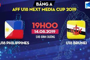 Kết quả trận U18 Philippines vs U18 Brunei bảng A U18 Đông Nam Á
