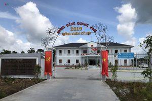 Điều tra làm rõ vụ sập mái Hội trường UBND thị trấn ở Hậu Giang