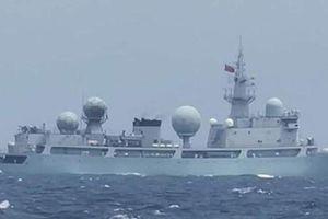 Tàu chiến Trung Quốc bị tố âm thầm đi vào lãnh hải Philippines
