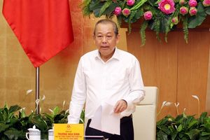 Phó Thủ tướng Thường trực chỉ đạo tăng cường công tác an ninh hàng không dân dụng