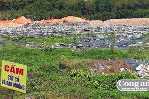 Nhanh chóng xử lý vấn đề phát sinh tại bãi rác H. Núi Thành