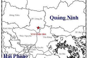 Quảng Ninh: Động đất 3,2 độ richter xảy ra tại thành phố Uông Bí