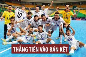 Thái Sơn Nam vào bán kết giải Futsal các CLB châu Á 2019