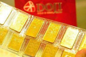 Giá vàng tăng vượt mức 42 triệu đồng/lượng