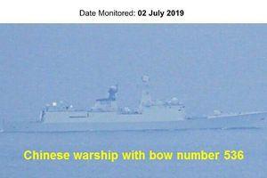 5 tàu chiến Trung Quốc bị tố đi qua vùng biển Philippines mà không báo trước