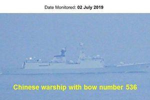 Philippines 'chỉ mặt' dàn chiến hạm Trung Quốc tiến vào vùng biển mà không thông báo