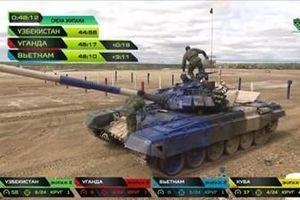 Việt Nam về nhì trận chung kết đua xe tăng hấp dẫn nhất thế giới ở Nga