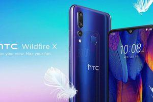 HTC Wildfire X ra mắt: 3 camera sau, RAM 3GB, pin 3.300mAh, giá 155 USD