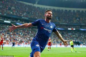 Giroud thi đấu xuất sắc trong thất bại của Chelsea ở Uefa Super Cup