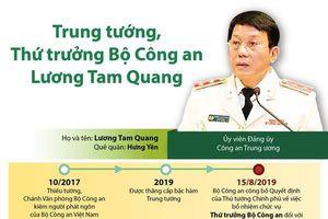 Trung tướng, Thứ trưởng Bộ Công an Lương Tam Quang