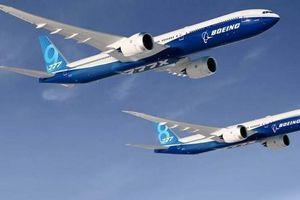 Tập đoàn Boeing hoãn bàn giao dòng máy bay thân rộng 777-8