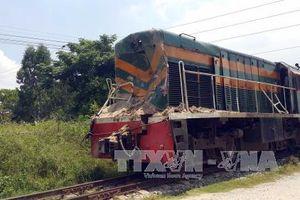 Băng ngang đường sắt, người đàn ông bị tàu hỏa đâm tử vong