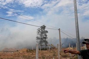 Liên tiếp cháy rừng ở Huế và Quảng Trị trong ngày rằm tháng 7