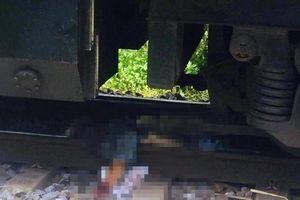 Qua đường ngang không quan sát, người đàn ông bị tàu hỏa đâm tử vong