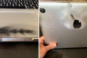 MacBook Pro 2015 chưa thay pin bị cấm mang lên máy bay vì nguy cơ cháy nổ