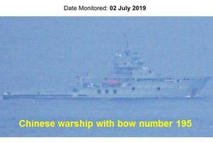 Tàu chiến Trung Quốc liên tục đi qua lãnh hải Philippines