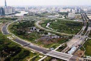 TPHCM sai sót lớn trong dự án BT 4 tuyến đường Khu đô thị Thủ Thiêm