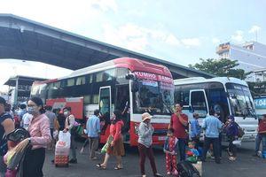 Dịp lễ, tăng 40% giá vé tại các bến xe lớn ở TP.HCM