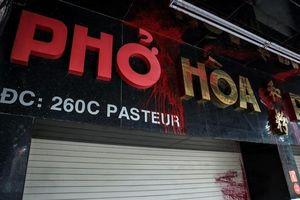 Yêu cầu TP.HCM báo cáo Thủ tướng vụ 'khủng bố' phở Hòa Pasteur