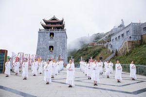 Lễ cầu an mùa Vu Lan trên đỉnh Fansipan