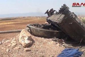 SAA phá hủy xe tăng cực mạnh tự nâng cấp tại Idlib