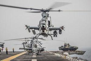 Thủy quân lục chiến Mỹ khoe vũ khí răn đe Iran